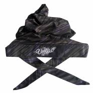 Virtue Padded Headwrap - Graphic Purple