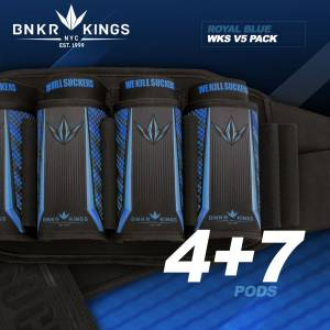 Bunkerkings Strapless Pack V5 - WKS 4+7 - Royal Blue