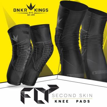 BUNKERKINGS FLY COMPRESSION KNEE PADS размер XL/ 2XL