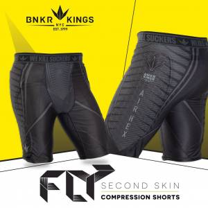 BUNKERKINGS FLY COMPRESSION SHORTS размер S/M