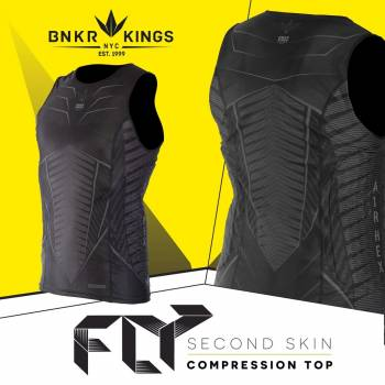 BUNKERKINGS FLY SLEEVELESS COMPRESSION TOP размер S/M