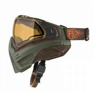 Push Unite FS Goggle Olive/Brown